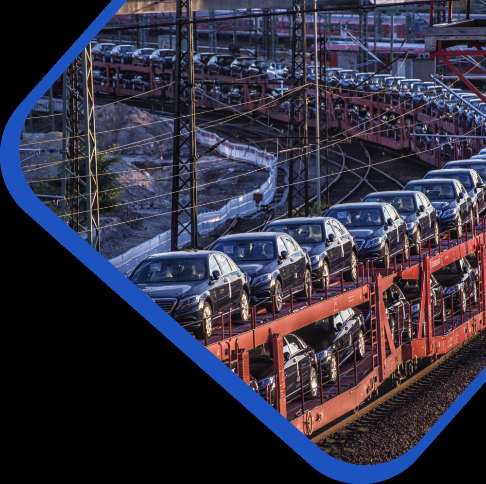 доставка автомобилей железнодорожными вагонами