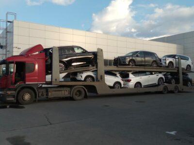 перевозка автовозом авто по России